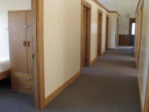 Dormitory Hallway