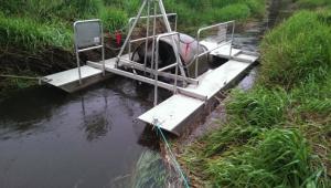 2015 Palouse Creek Rotary Screw Trap